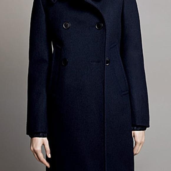 Uniqlo Jackets & Blazers - Uniqlo +J Jil Sander Navy Wool Pea Coat